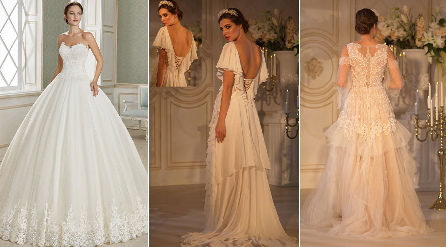 Les différents types de robe de mariée