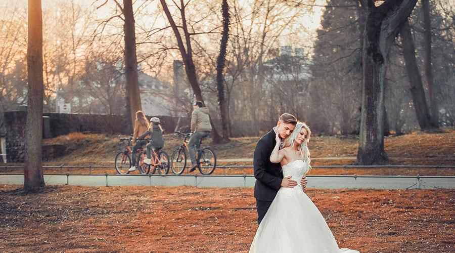 Photos de mariés en Turquie