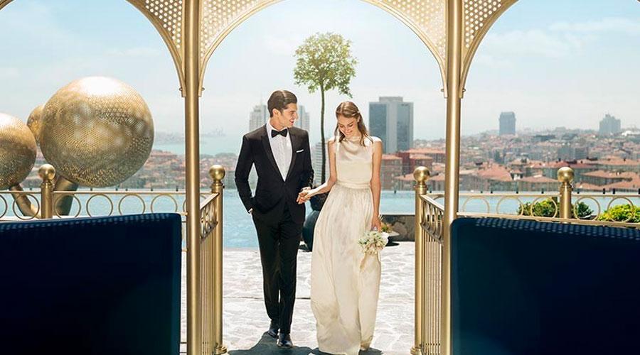 Ma robe de mariée vient d'Istanbul